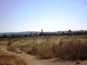 Sant Llatzet - Vista del PT des del nucli de