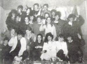 Grup de teatre del CPC Costa i Llobera, 1987