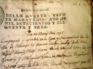 1753. Consistori