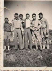 Grup d'escolars de 13 anys - 1956