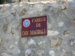 C/de can Magdalè, un dels pocs de Marratxí-net