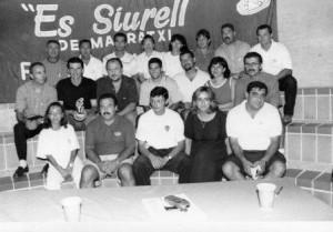 Juntes directives de la Penya Mallorqu Es Siurell i el club esportiu apa es Siurell 981911 img073