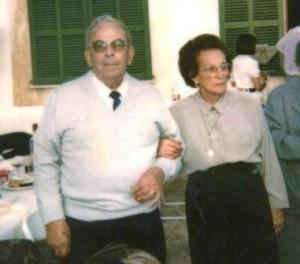 Josep Vidal i Margalida Bibiloni, de can FERRIOL