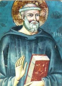 Imatge de Sant Benet, patró d'Europa