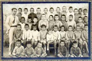 Albert Castell i la seva classe