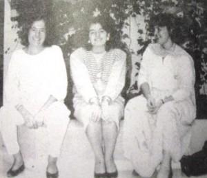 07c Canyelles Marcé, Margalida 24 anys; Maria Pons Morell 24, M.Jesus GArcia Gaurdo de Zamora; noves mestres C.i LL.Port 1987