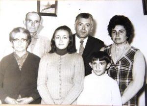 PO Família de can PARRÓ Maria Rigo CORRÓ, Toni Frontera, Catalina Creus, Miquel Creus des TANCAT, Rafel Creus, Maria Frontera
