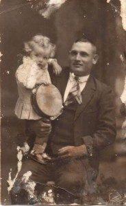 PO Beneta Rigo Canyelles i el seu pare, Pere Antoni