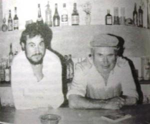PO Restaurant cas Sastre, 1987 Joan Sastre, pare i fill
