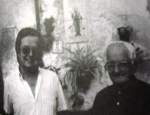 SC Joan Pizà Oliver ROCA i mn Joan Ferrer Alemany, a Búger, ja jubilat, 1987