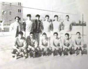 07m PI equip voleibol la Salle Port 1987