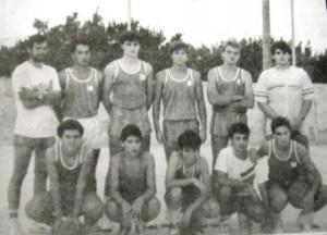 07m PT Munar, Tomeu i l'equip de basquet jovenils PT