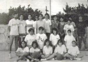 07m PT basquet cadets masculi i femeni Port 1987