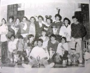 07m PT equip futbol jovenils a Alemanya  Port 1987