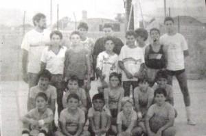07m PT equips de minibasquet i infantil Port 1987
