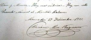 Signatura de Maciana Mas. AMIB (c)BMM